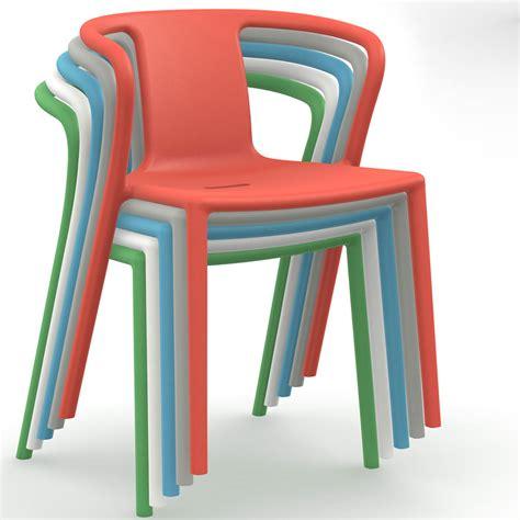 Magis Air Armchair by Magis Jasper Morrison Air Armchair Set 4pcs Panik Design