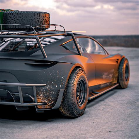 Tesla Roadster Safari Concept Is Ready to Handle the ...