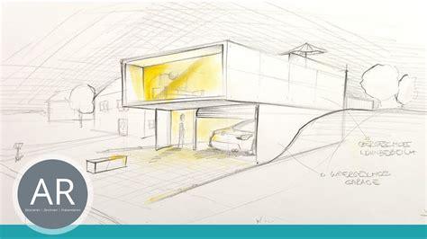 Haus Zeichnen Lernen by Architektur Zeichnungen H 228 User Perspektivisch Zeichnen