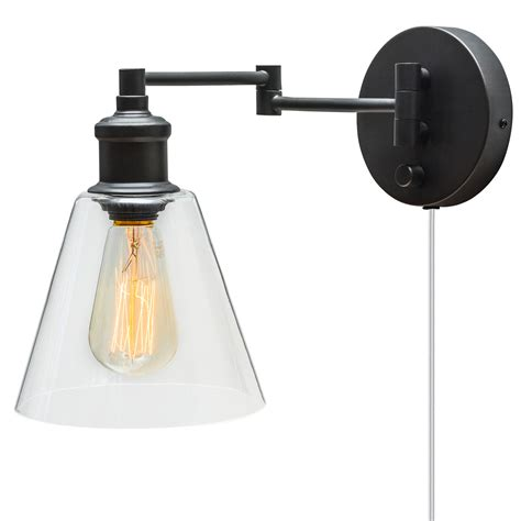 wall sconce with cord globe electric company adison 1 light in industrial