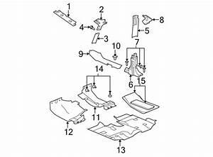 Jeep Wrangler Jk Clip  Trim  Pillar  Pin  2 Door  2 4
