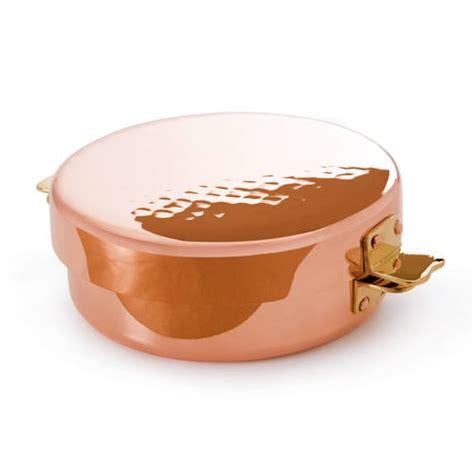 mauviel   qt saucepan  cover copper