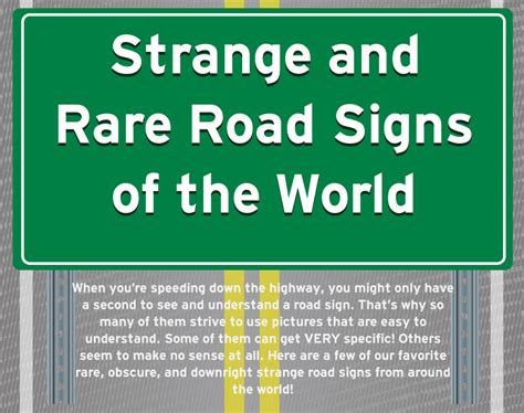Strange And Rare Road Signs Of World. Matching Signs. Tachycardia Signs. Buffet Signs. Issn 2328 Signs. Happy Family Signs. Electrical Hazard Signs. Claustrophobia Signs. Chronic Kidney Signs
