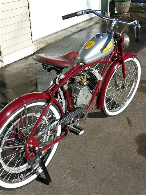 whizzer motorbike original bikes motorised bike