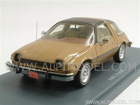 neo AMC Pacer 1975 (Brown over Beige) (1/43 scale model)