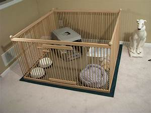 439x439 red oak large indoor dog kennel with durable With pet playpen with floor