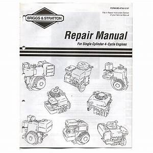 Briggs And Stratton Repair Manual Pdf Download Free