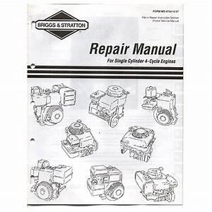 Briggs And Stratton Repair Manual Pdf Download Free