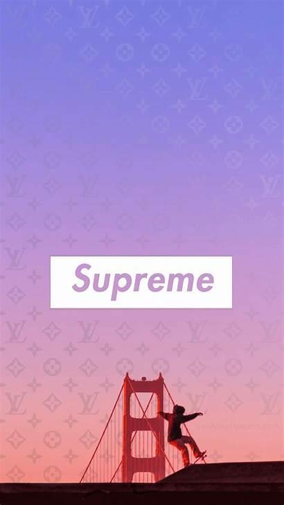 Supreme Wallpapers 4k Fondos Allhdwallpapers Purple Backgrounds