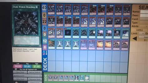 Yugioh Darkness Deck 2015 by Yu Gi Oh Burning Abyss World Deck Jan 2015