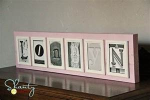 16 diy ideas for styling the photo frames pretty designs With name frames from letter pictures