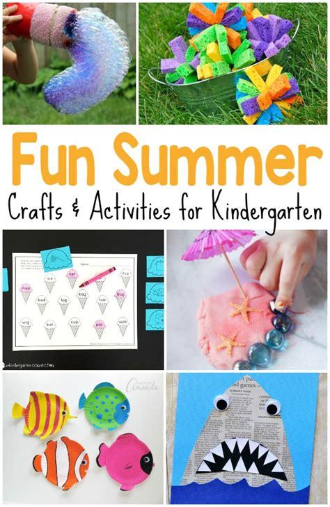 50 epic kid summer activities and crafts 867   Crafts and Activities for Kindergarten