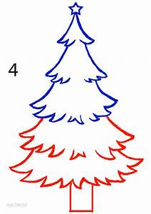 How to Draw a Christmas Tree (Step by Step Pictures ...