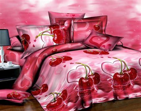 cherry pink bedding size comforter duvet