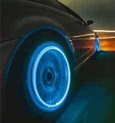 Lights 2pcs Blue Neon LED Motobike Car Bicycle Tyre