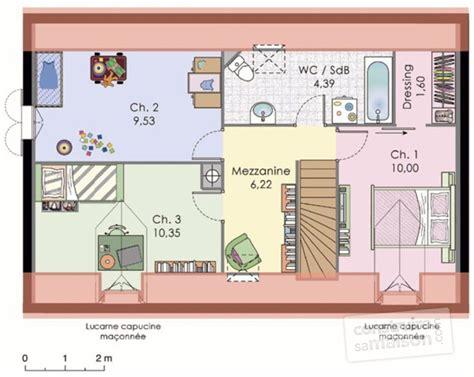plan maison etage 4 chambres gratuit plan de maison avec mezzanine previous plan de maison