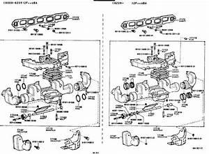 Leaking Exhaust Manifold Plug  Fj60