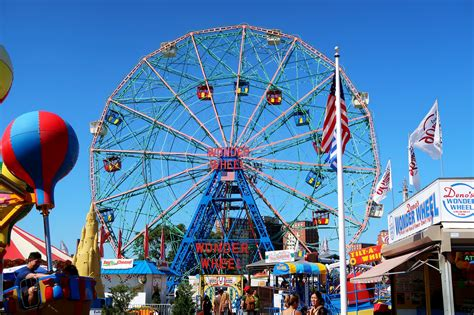 coney island coney island beach luna park fun fair