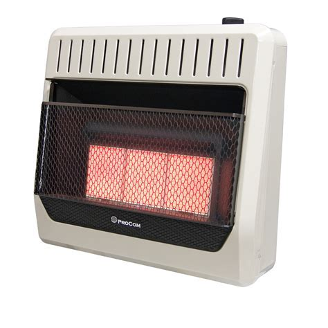Ventless Natural Gas Heater Manual Control Wall Heater