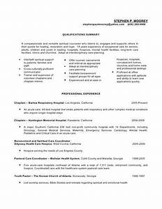 staff chaplain resume sample With chaplain resume templates