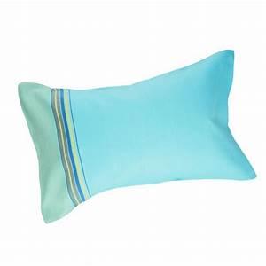 Coussin De Plage : coussin de bain plage coloris blue lagoon ~ Teatrodelosmanantiales.com Idées de Décoration