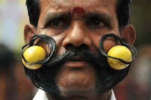 Mustache Becomes Employment Source in India