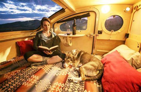 vistabule teardrop trailer  flexible sunflare solar