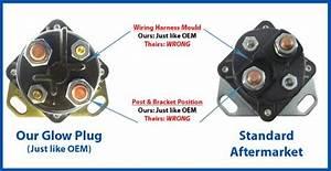 Ford Diesel Glow Plug Relay Solenoid Oem Style 6 9l  U0026 7 3l