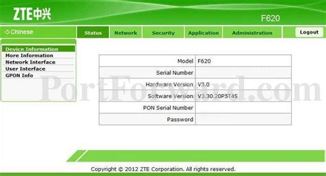 Since some of the models don't follow the standards, you can see those in the table below. Zte User Interface Password For Zxhn F609 / ZTE H369A - Default login IP, default username ...