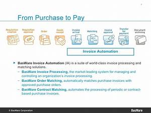 basware invoice automation presentation 2007 With basware invoice processing