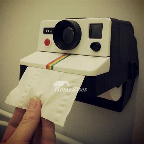 decorative bathroom toilet paper holder wall mount camera
