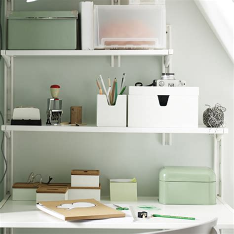 etagere classeur pour bureau idées rangement pour le bureau décoration