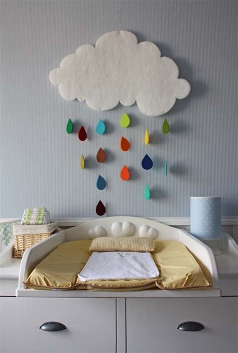 gorgeous rain cloud mobile baby room decor home design garden architecture blog magazine
