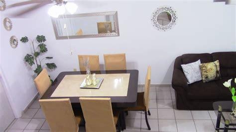 decoracion en sala comedor  espejos youtube