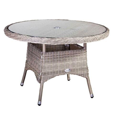 tavolo in rattan da giardino tavoli da giardino in rattan tavoli per giardino