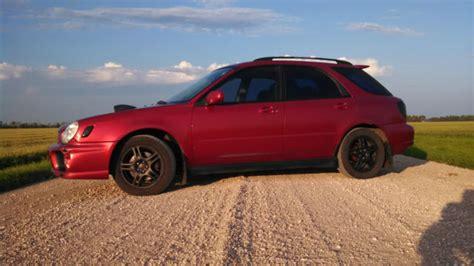 burgundy subaru wrx 2002 subaru impreza wrx bugeye wagon new turbo mods red