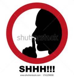 Clip Art Shhh Signs