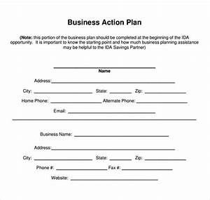 Sample Business Action Plan - 8+ Documents in Word, PDF