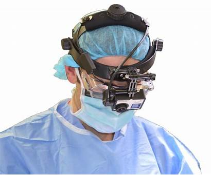 Surgical Headgear Package Cameras Action Power Surgery
