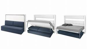 lit oribed sofa avec canape escamotable pliable un lit With lit double canapé