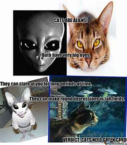 Cats Are Aliens by recyclebin - Meme Center