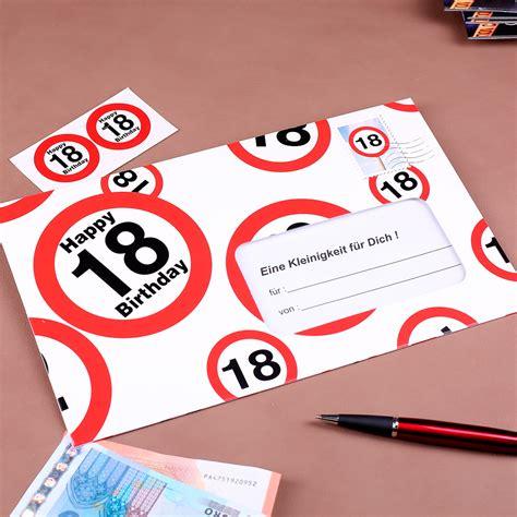 18 geburtstag mädchen karten f 252 r geldgeschenke zu verschiedenen anl 228 ssen