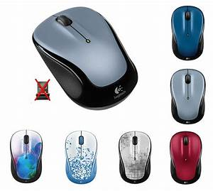 Logitech M325 Wireless Mouse With Nano Receiver Pc Mac