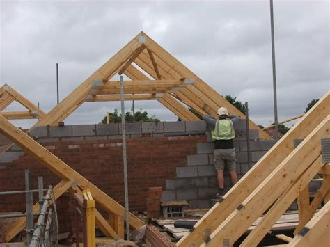 Gable Wall Cut-ups Going Up On The 5 New Homes We're