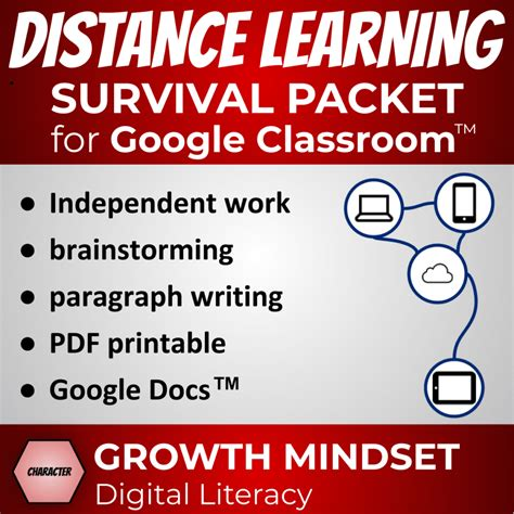 Distance Learning Survival Kit for Google Classroom™ and ...