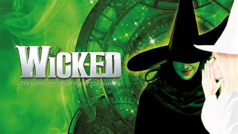 wicked  apollo victoria theatre  london  ankle