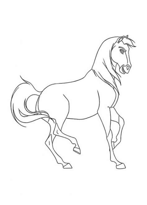 disney malvorlage spirit kostenlos draw art zebra