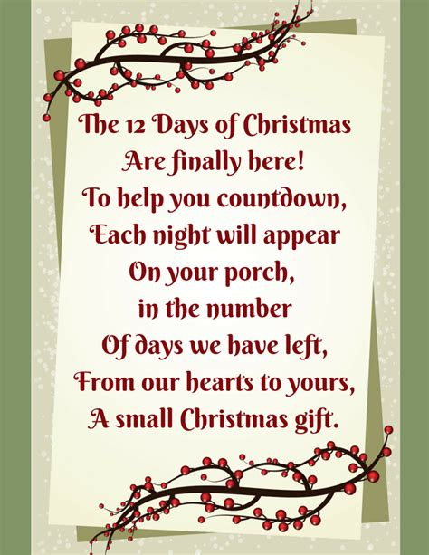 12 days of christmas made easy double the batch