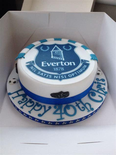 everton cake efc   birthday cake cake