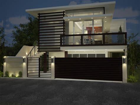 design of fences for houses indon design home house fence design